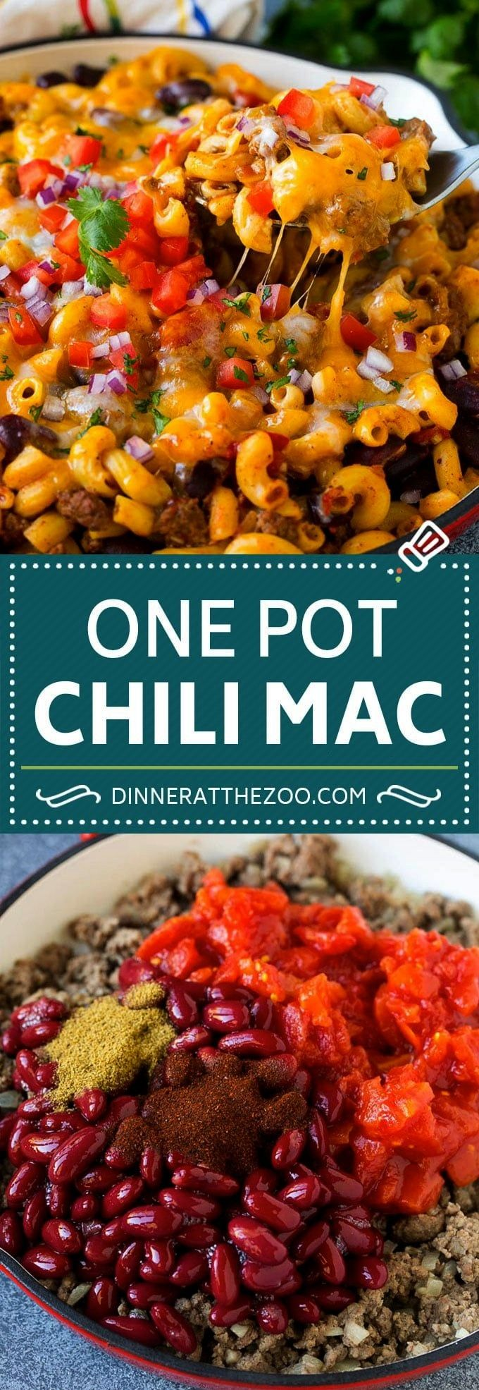 Pot Chili Mac Recipe | One Pot Pasta | Chili MacOne Pot Chili Mac Recipe | One Pot Pasta | Chili Ma