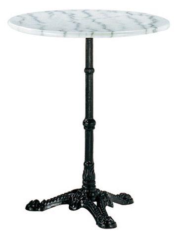 Table Bistro Sebasto Marbre Et Metal O60 Cm 39 90 Marbre Table De Jardin Table