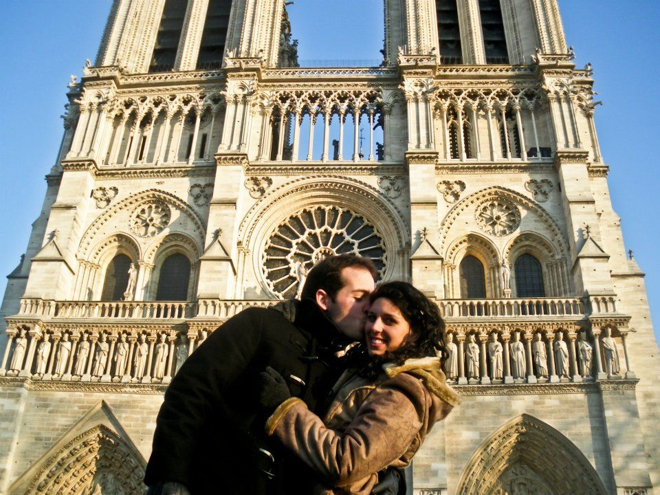 Love in Paris - Notre Dame