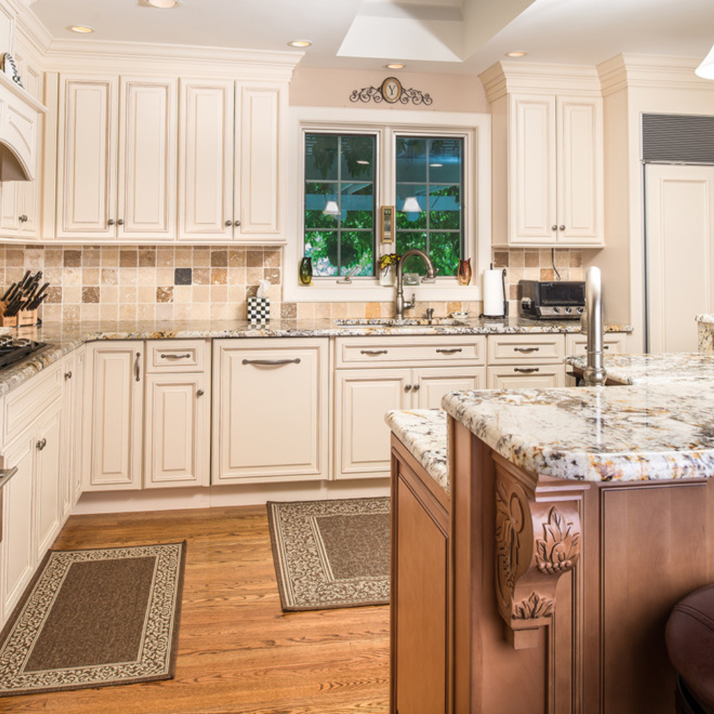 Wellington Ivory Kitchen By Fabuwood Cabinets Look Like They Were Custom Made Design By Beatty Lumber Stock Kitchen Cabinets Fabuwood Cabinets Kitchen