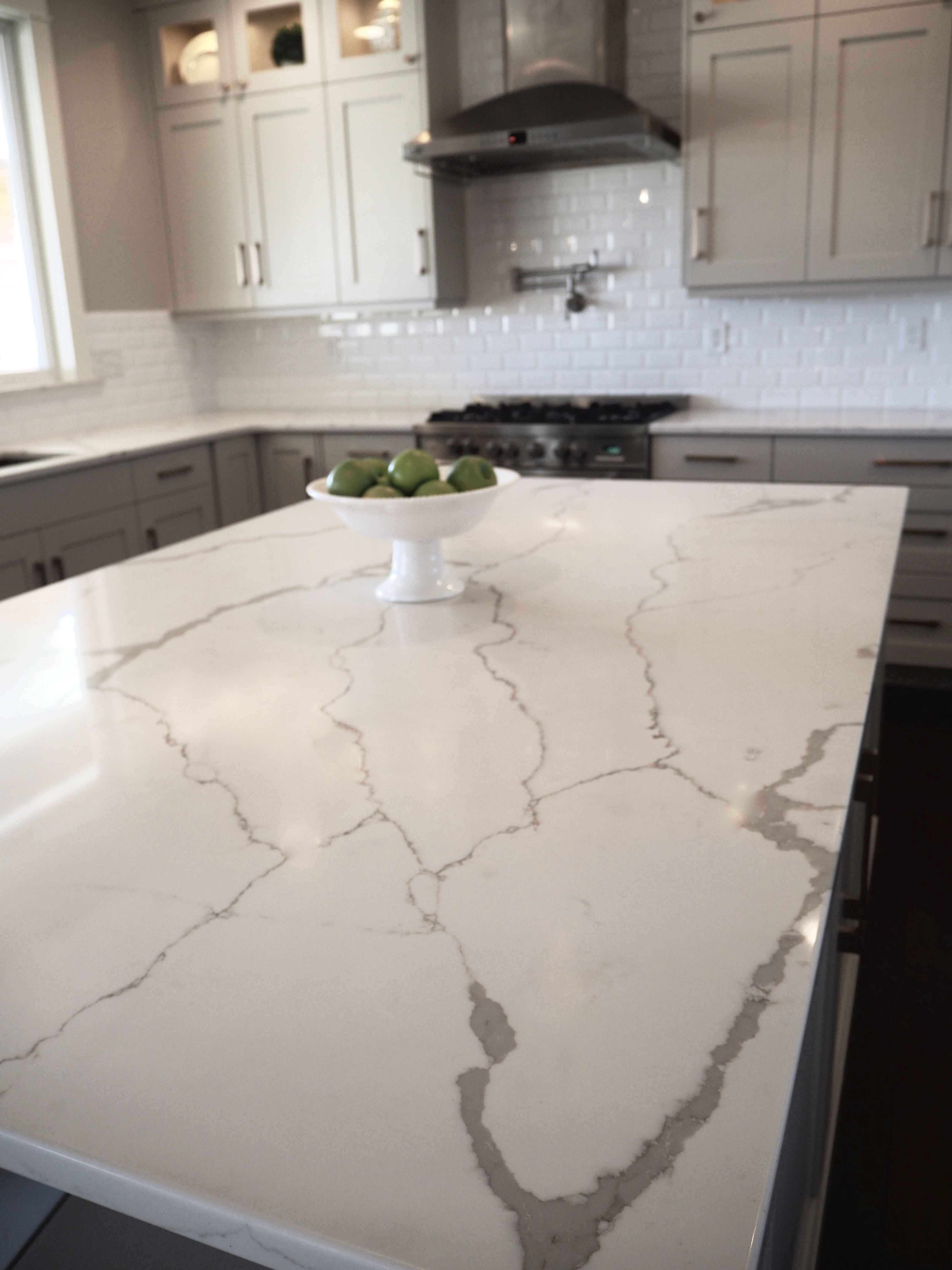 Daltile Quartz Countertops Great Marble Look Alike Quartz