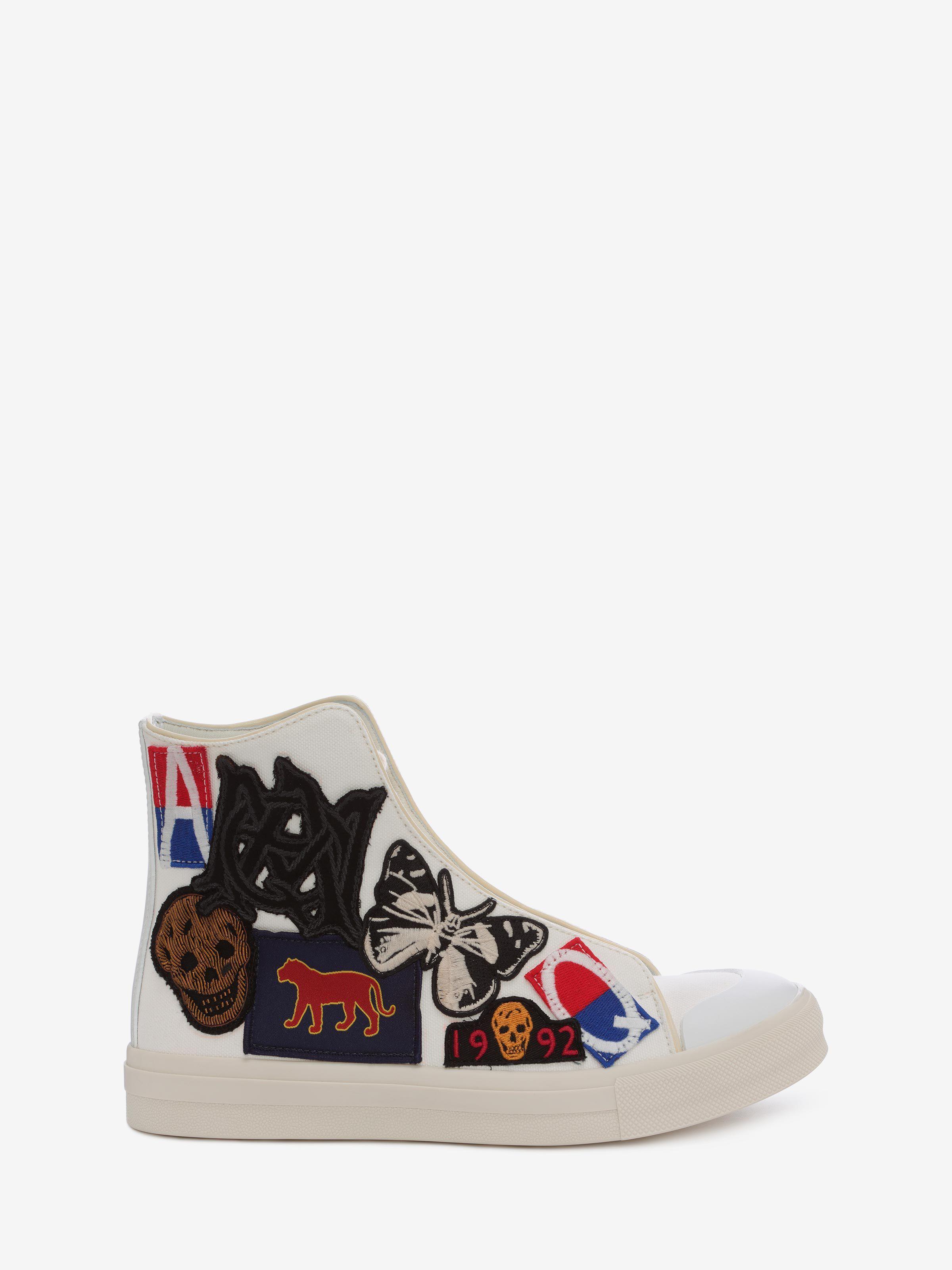 Alexander Mcqueen High Top Lace Up Sneaker Sneakers U F Lovely
