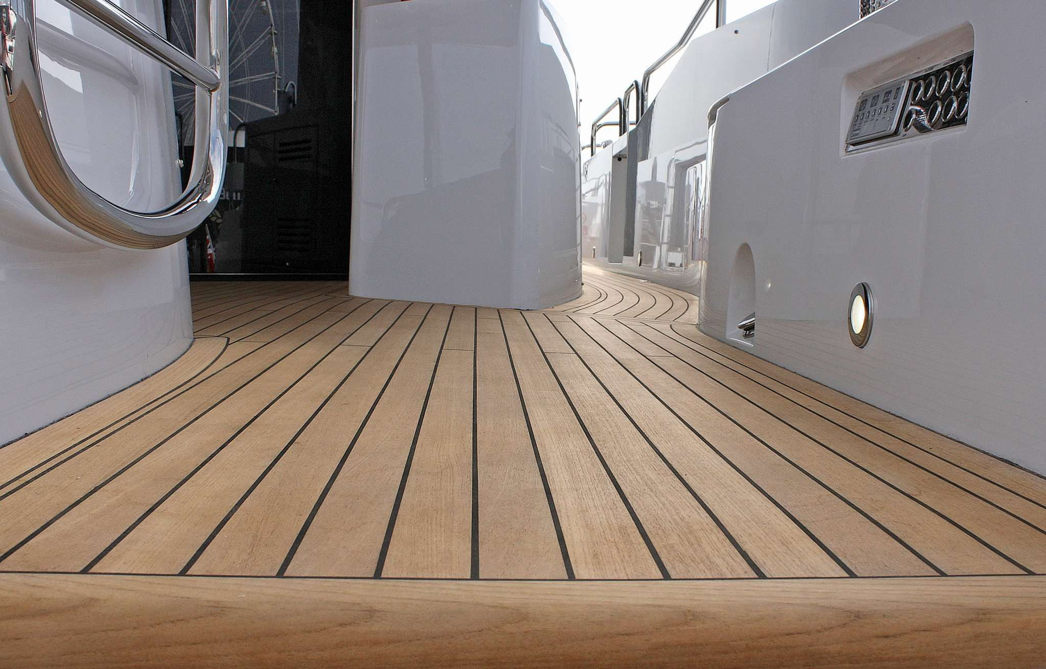 Boat vinyl floor material singapore boat new floor product light weight composite decking for