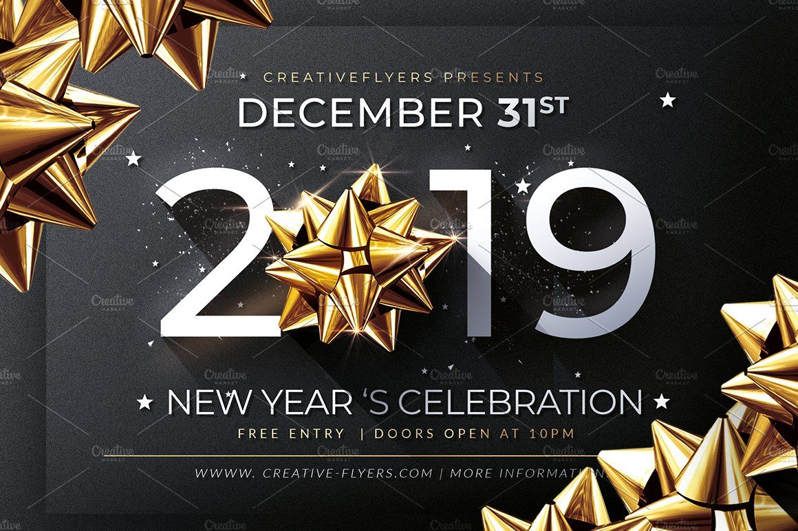 New Year Invitation Template Invitation template