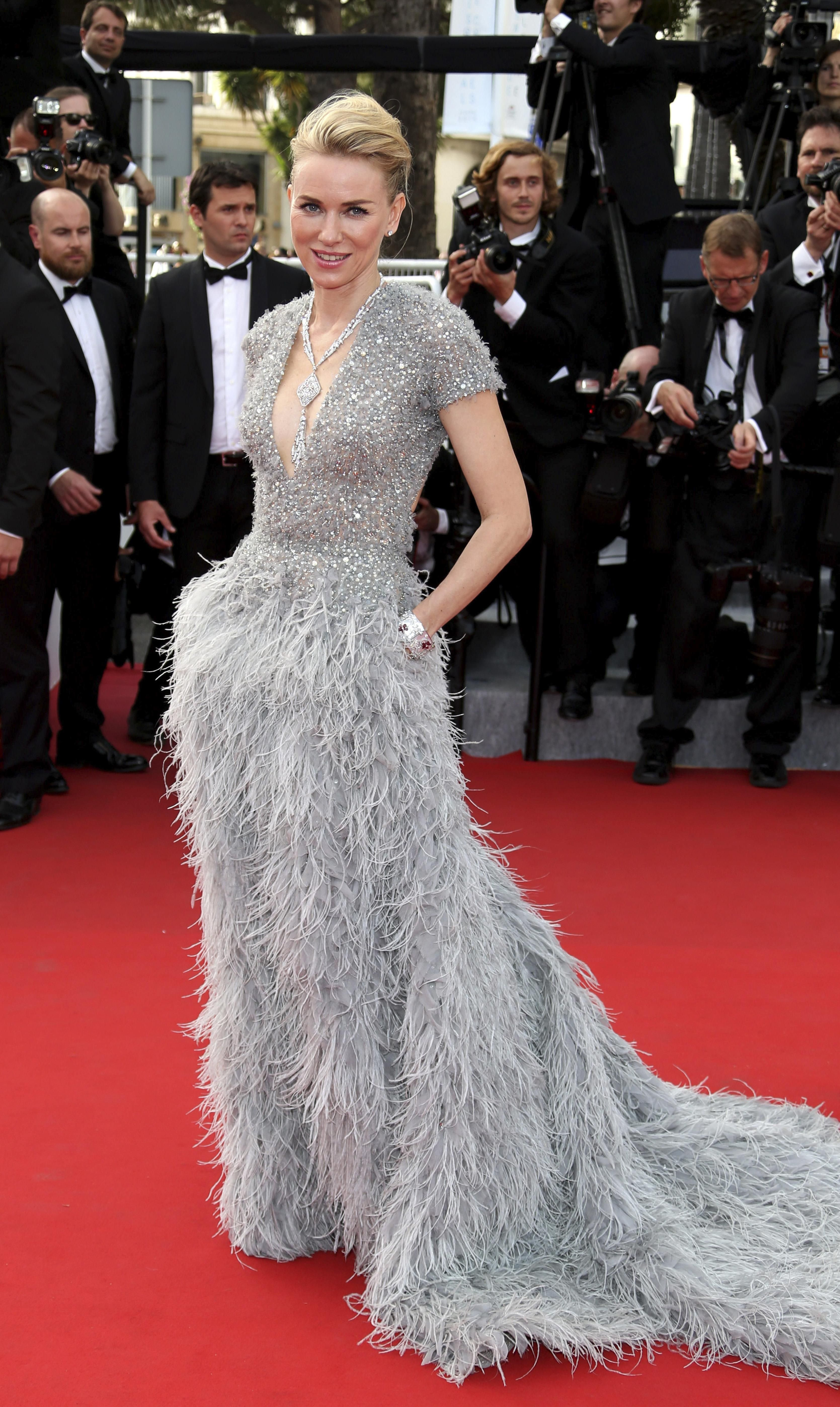 Cannes Film Festival 2015: All of the Best Red Carpet Dresses - Naomi Watts in Elie Saab   StyleCaster