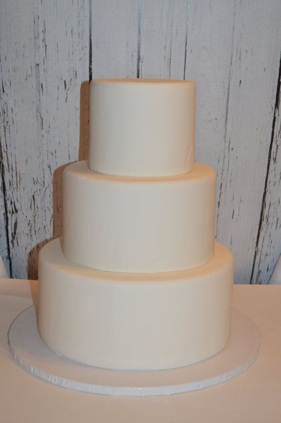 3 Tier Faux Wedding Cake You Create Fake By Cakememberllc
