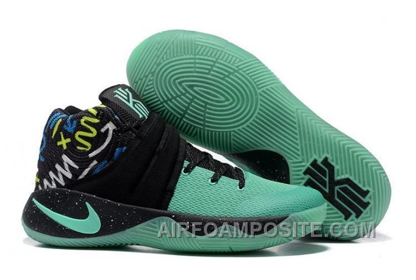 Nike Kyrie 2 Mint GreenBlack Glow In The Dark Sole Iybwk