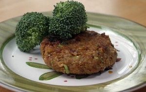Vegan Chickpea Brown Rice Burgers - Dinner from
