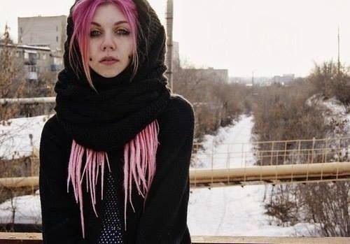 Goth pink porn 13