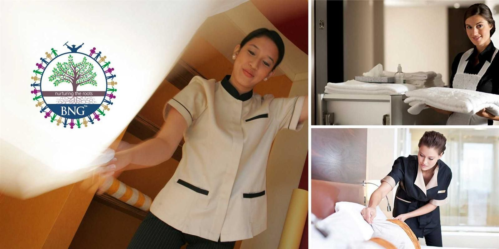 Hotel Housekeeping staffs can be divided into 3 categories