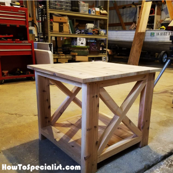 End table plans | HowToSpecialist - How to Build, Step by Step DIY Plans
