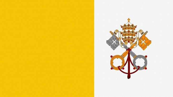 Vatican Horoscope Vatican City Flag Catholic Flag Flags Of The