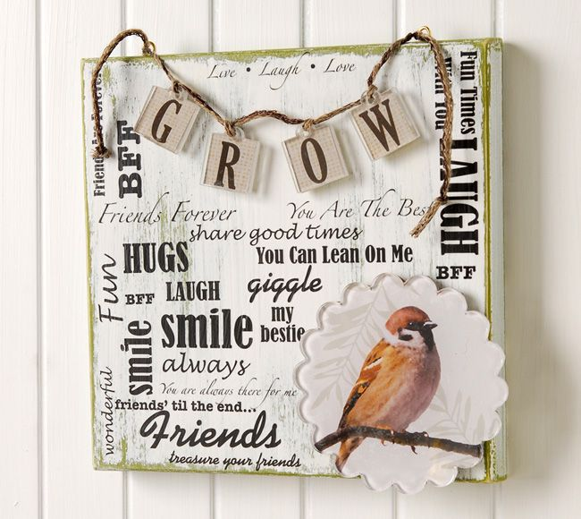 What a great addition to any wall!   Grow Canvas