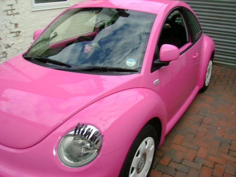 Volkswagen Beetle With Eyelashes My Bucket List Pinterest Pink