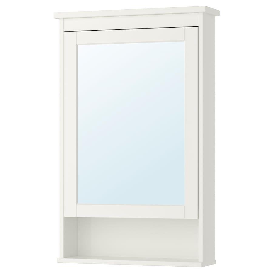 Pin By Alison Finkel On Bathroom In 2020 Hemnes Mirror Cabinets Ikea Hemnes Mirror