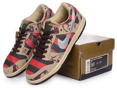 reputable site b91e6 da9ae Freddy Krueger Nike Shoes