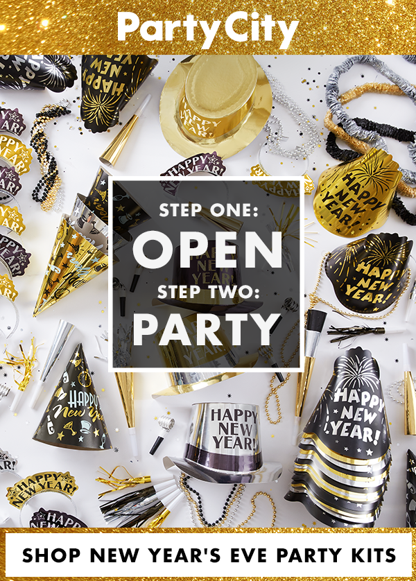 As easy as opening a box. Literally. Shop New Year's Eve ...