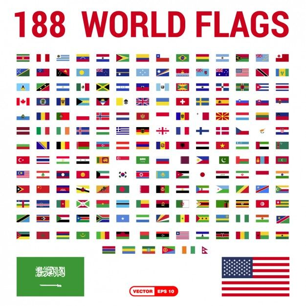 Download Flags Of The World Collection For Free Flags Of The World Flag Vector Flag