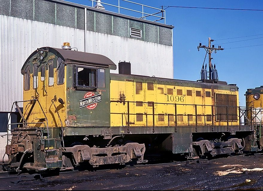 Chicago  U0026 North Western Railroad  Alco S4 Diesel