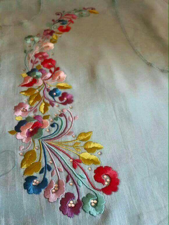Satin Stitches Embroidery Pinterest Pinterest Embroidery Hand