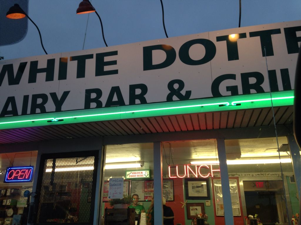 Dive and stereo store but yummy food long beach island