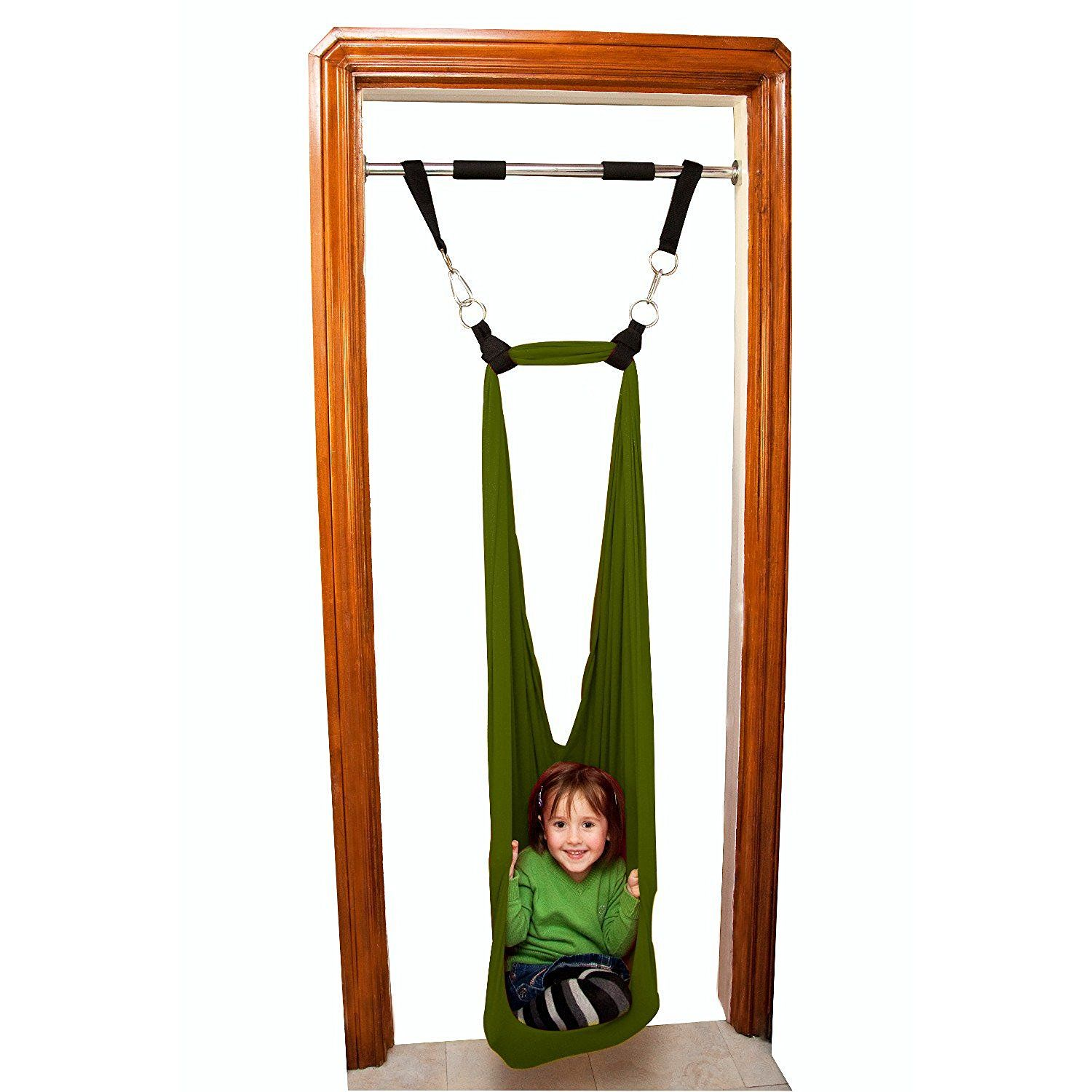 Amazon.com: DreamGYM Door Frame Sensory Swing for Kids. Therapy ...