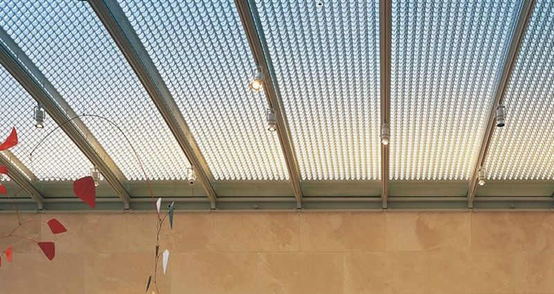nasher sculpture center, renzo piano, dallas. roof is made ...
