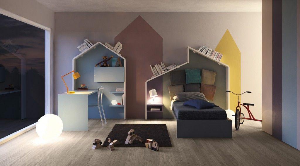 Chambre enfant déco de mur colorée facile et bluffante