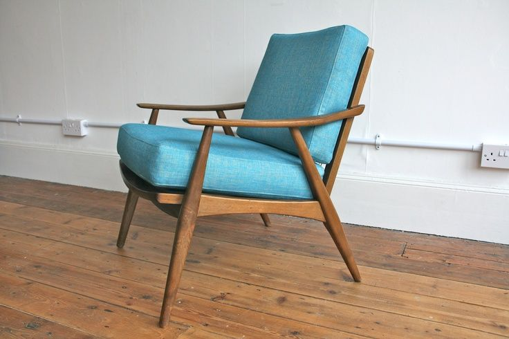 Scandinavian Armchair. Detail Is In The Curves Of The Frame.