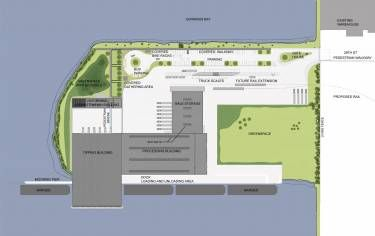 Sims Material Recovery Facility  Brooklyn Ny  Site Plan
