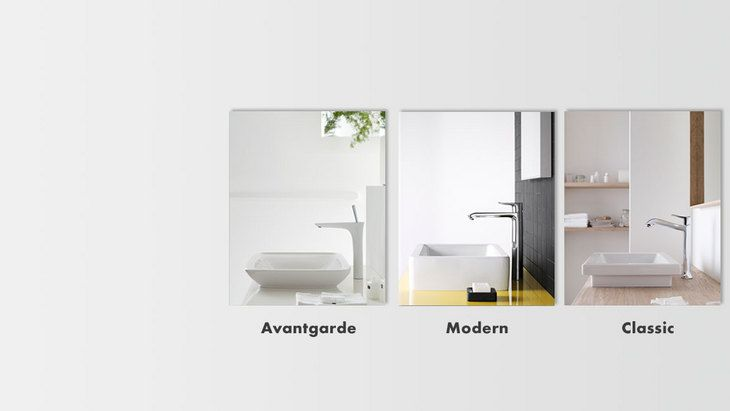 Virtual style check for different wash basins three