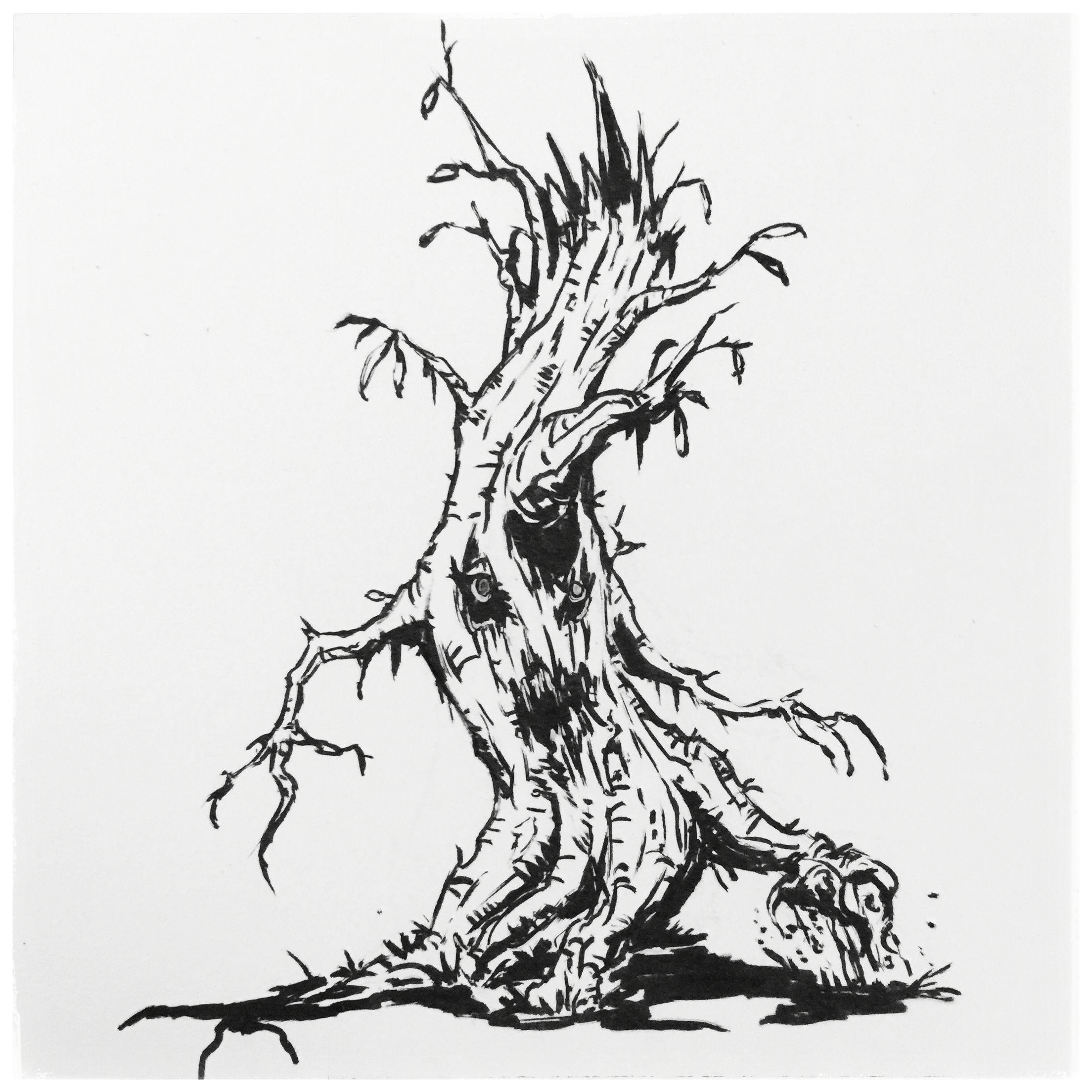 6 Walking Tree Animated Treant Uproot Character