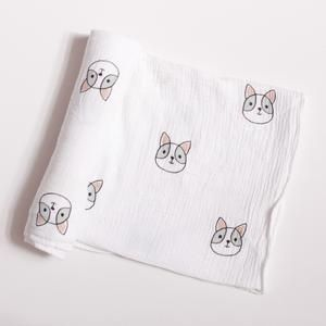 Masek Baby Dog Swaddle Blanket Soft baby blankets, Baby