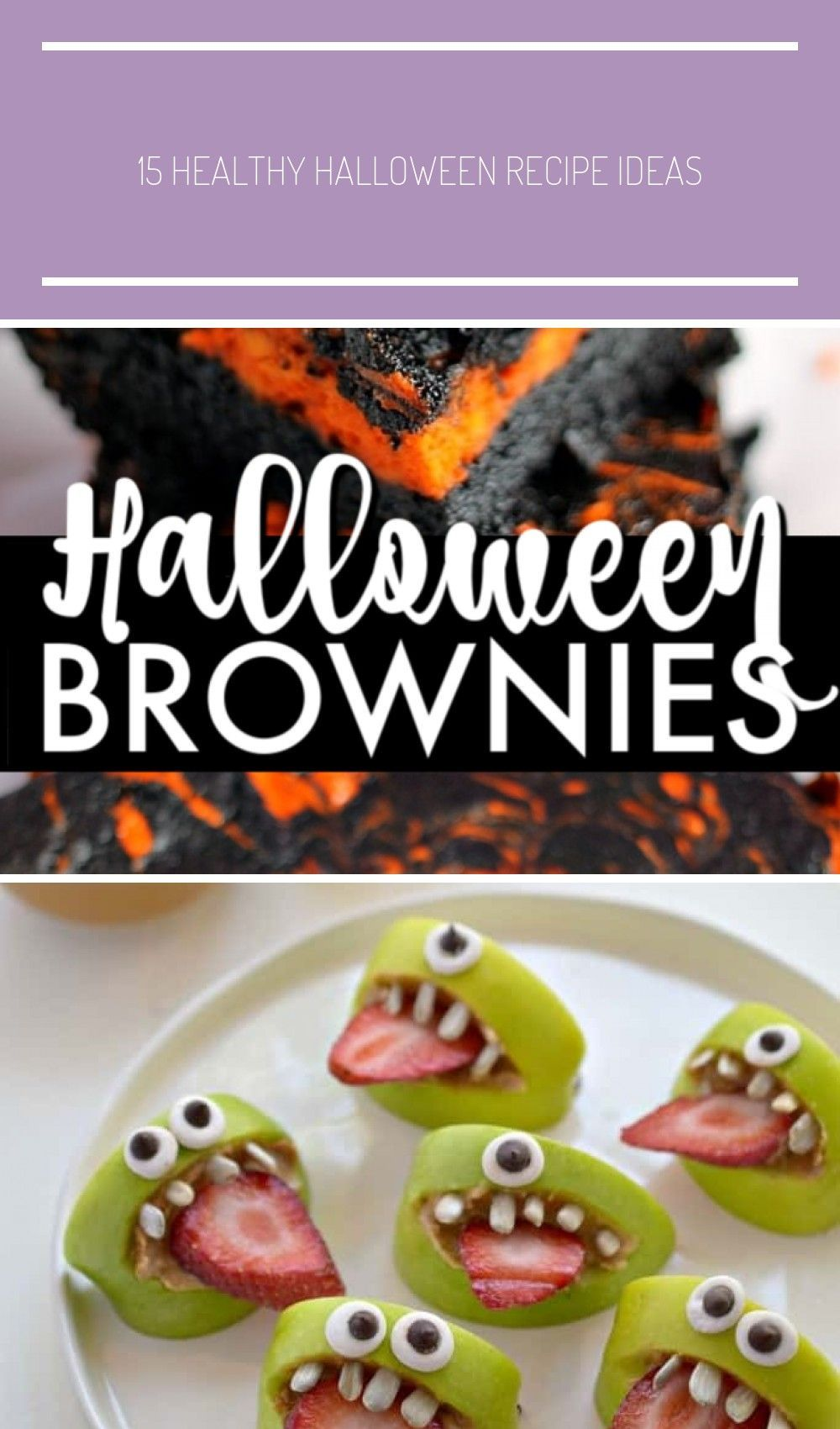 Halloween Swirl Cream Cheese Brownies have a layer of rich, dark chocolate brownie topped with a la