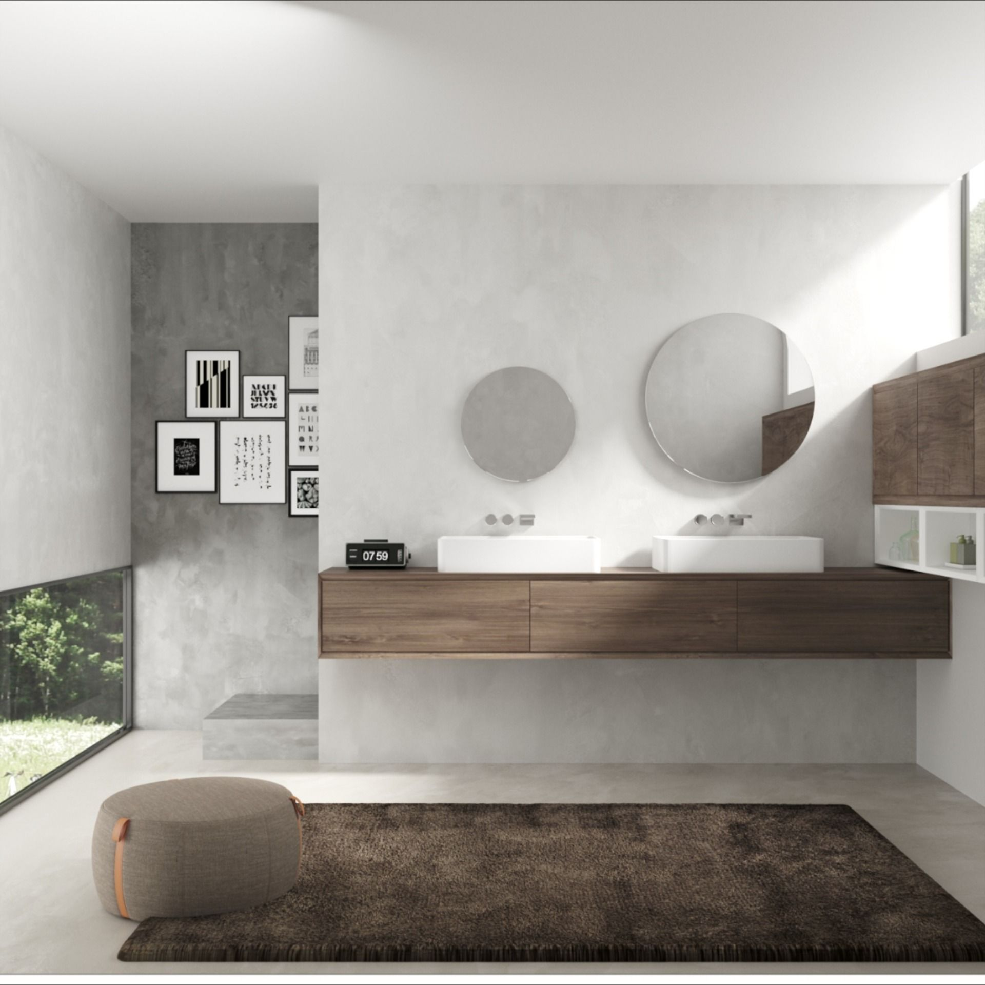 Runde Badspiegel Wandspiegel Und Kristallspiegel Nach Mass Online Gunstig Kaufen In 2020 Runde Spiegel Badspiegel Spiegel