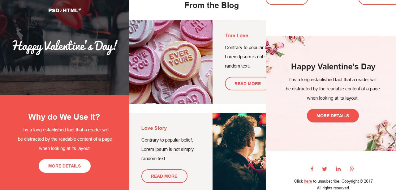 Free HTML Email Newsletter Templates Email newsletter
