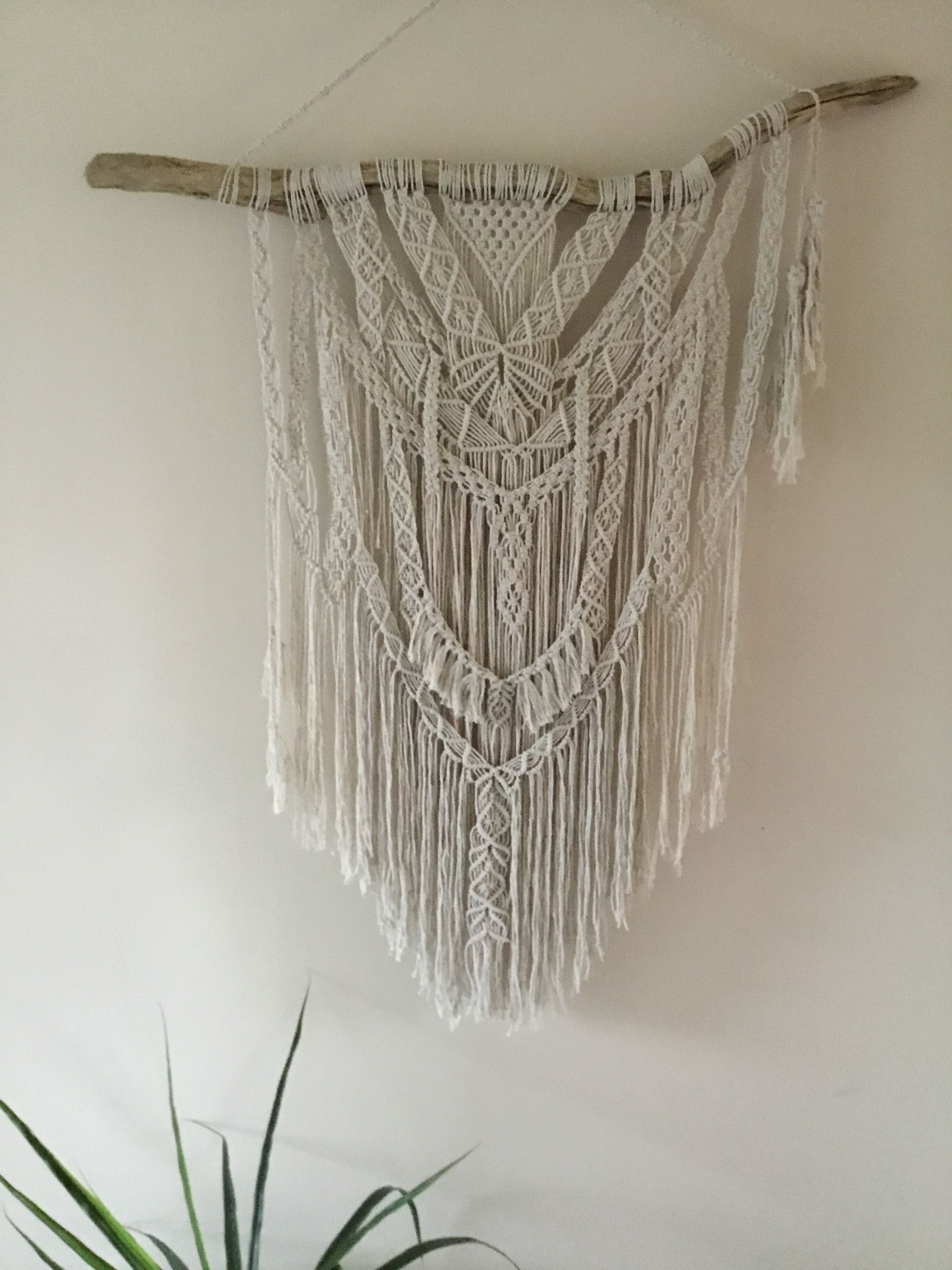 Large Boho Macrame Wall Hanging made in New Zealand by