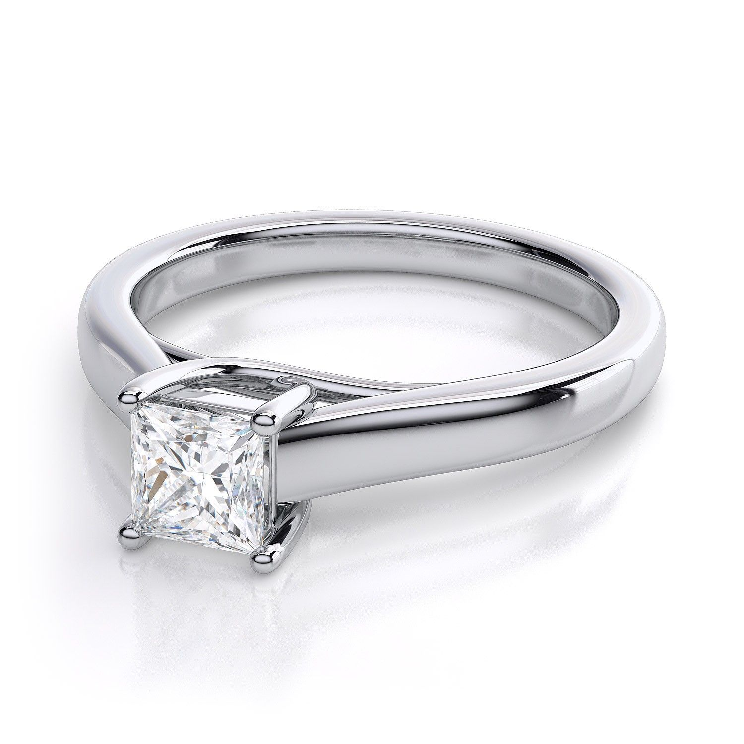 Resultado de imagen para princess diamond engagement rings