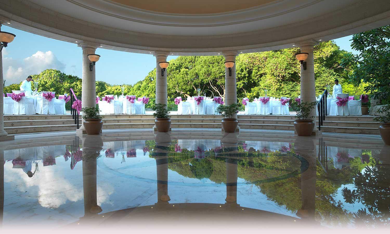 Alternatively, destination wedding at Sandy Lane in Barbados