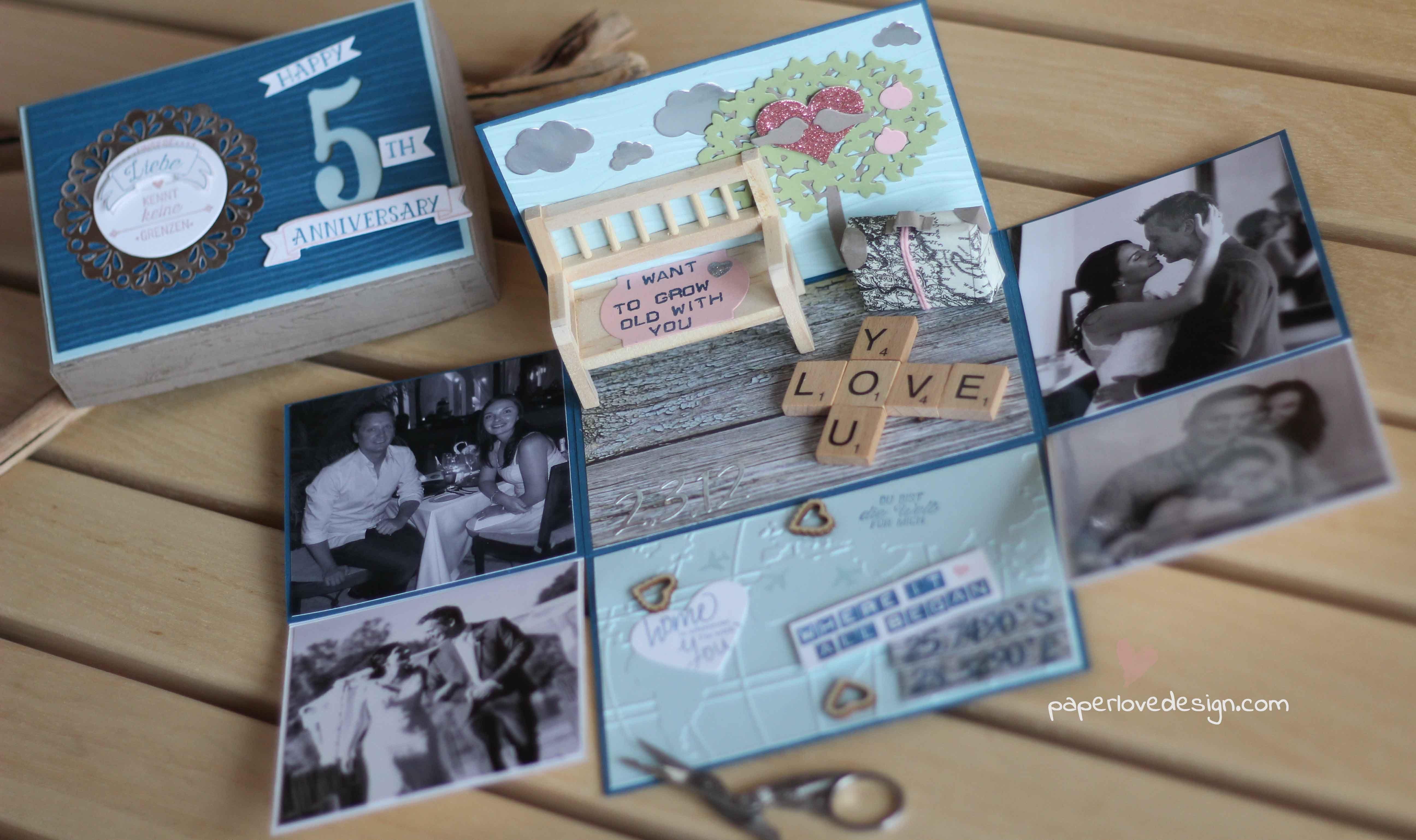 Stampin Up! Blog und Produkte bei Stempelwiese | Hochzeitstag geschenk, Geschenk hochzeit
