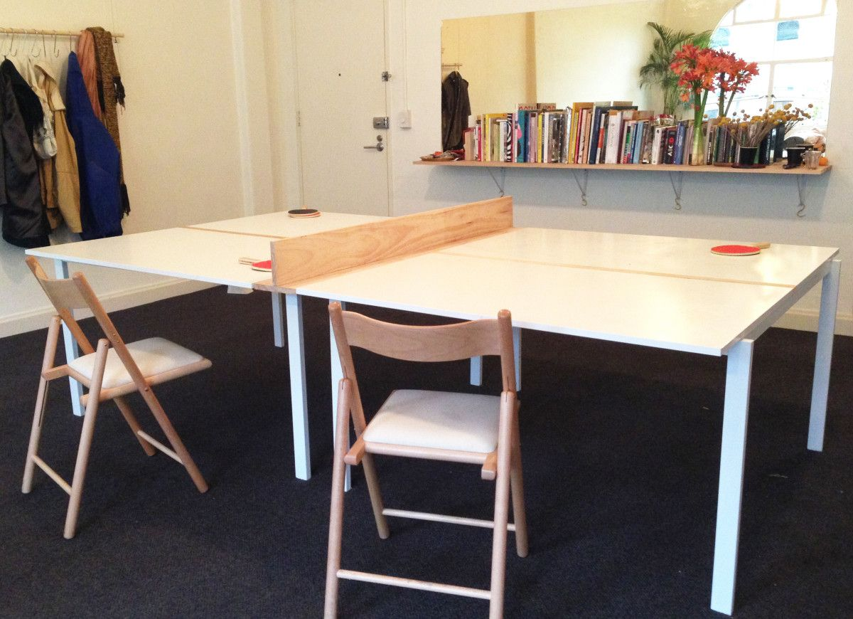 I Made The Ikea Melltorp Table Tennis Table From 4 X Melltorp Captivating Dining Room Ping Pong Table Design Inspiration