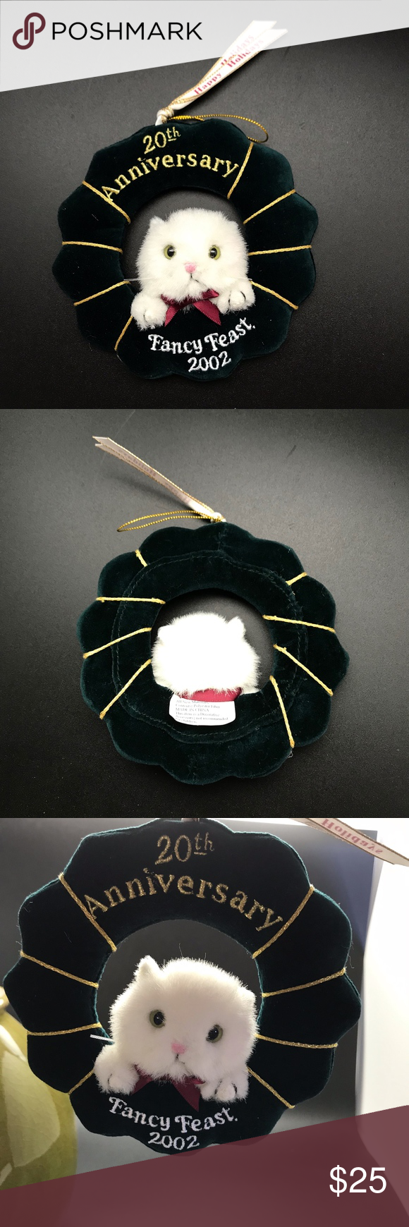 Fancy Feast Christmas Ornament 2020 2002 Fancy Feast Collectible Christmas Ornament in 2020