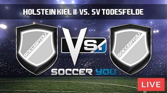Holstein Kiel II vs. SV Todesfelde Live Stream  http://goo.gl/VNR1d6