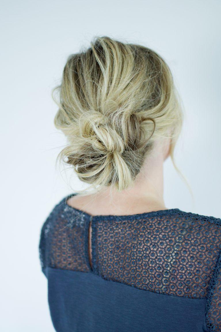 The 2 step bun (aka the way I've been wearing my hair all ...