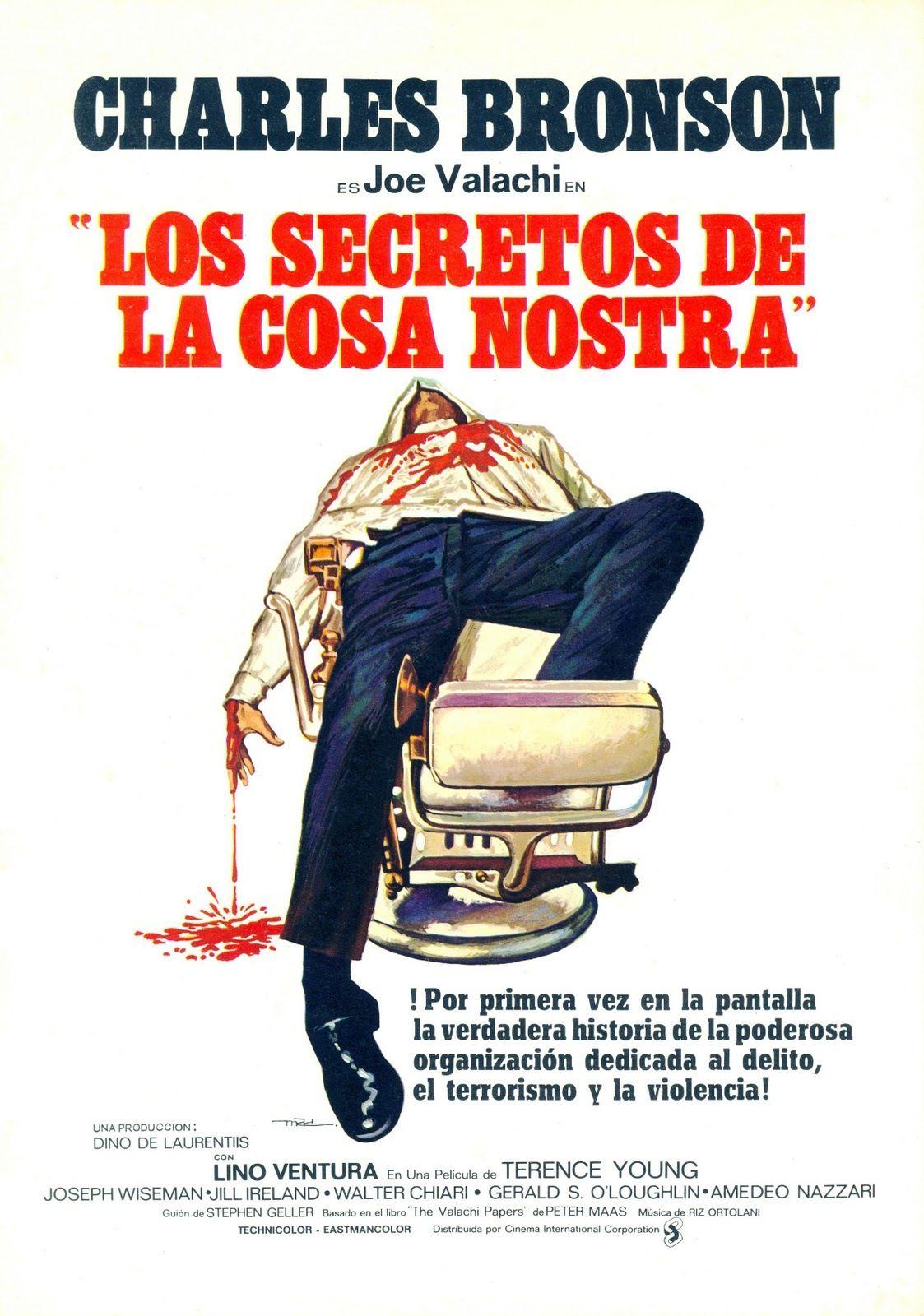 Los Secretos De La Cosa Nostra Affiche Cinema Affiche Film Film