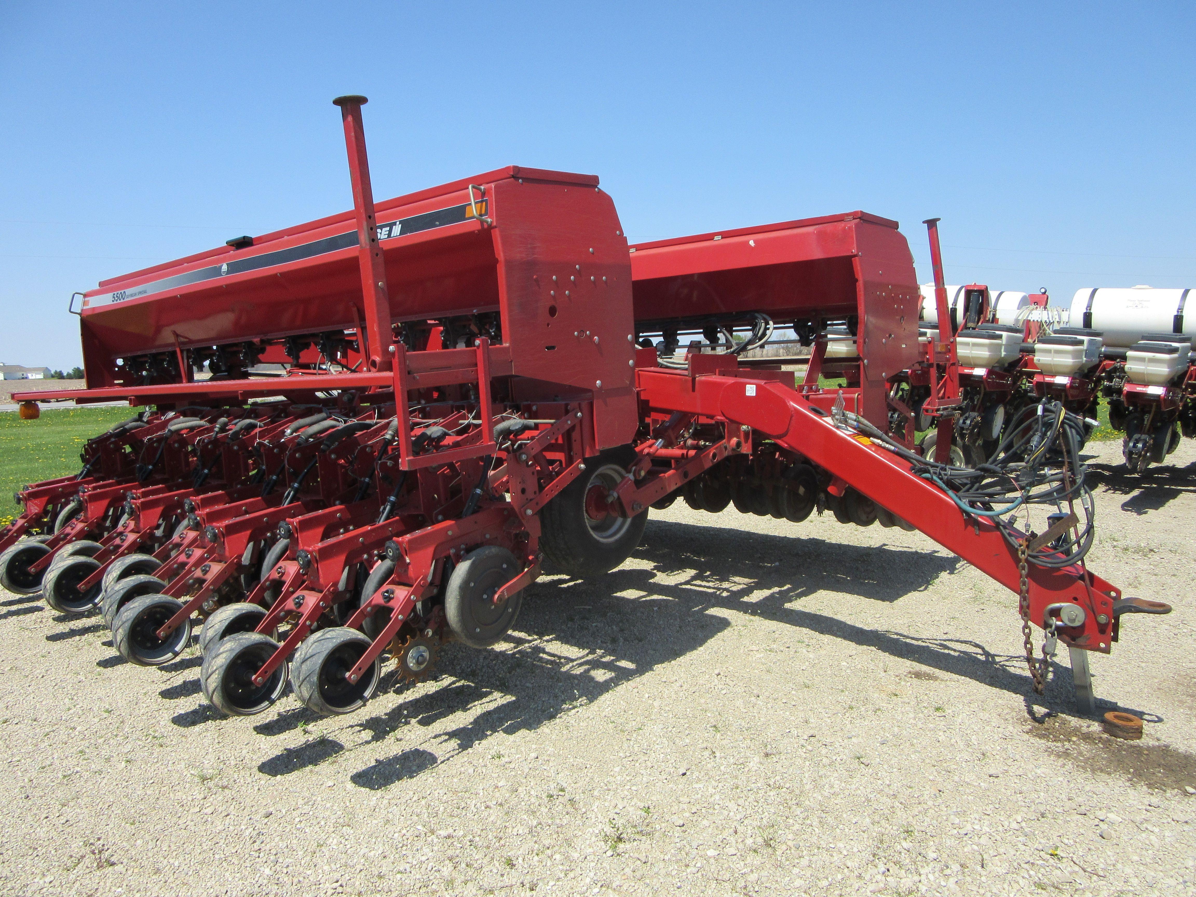 Caseih 5500 Grain Drill Case Ih Farm Equipment Monster Trucks