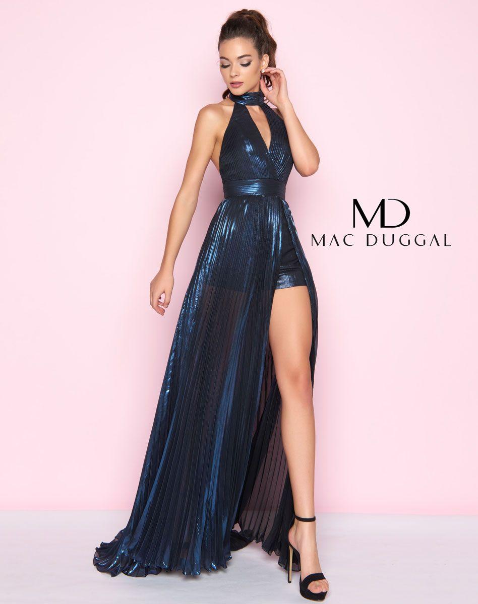 77423l Mac Duggal Romper Dress Prom Prom Dresses Prom Romper [ 1199 x 948 Pixel ]