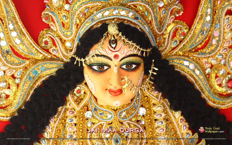 Durga Maa Asche Wallpaper Free Download