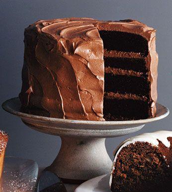 MileHigh Chocolate Cake Recipe Chocolate cake Chocolate and Cake