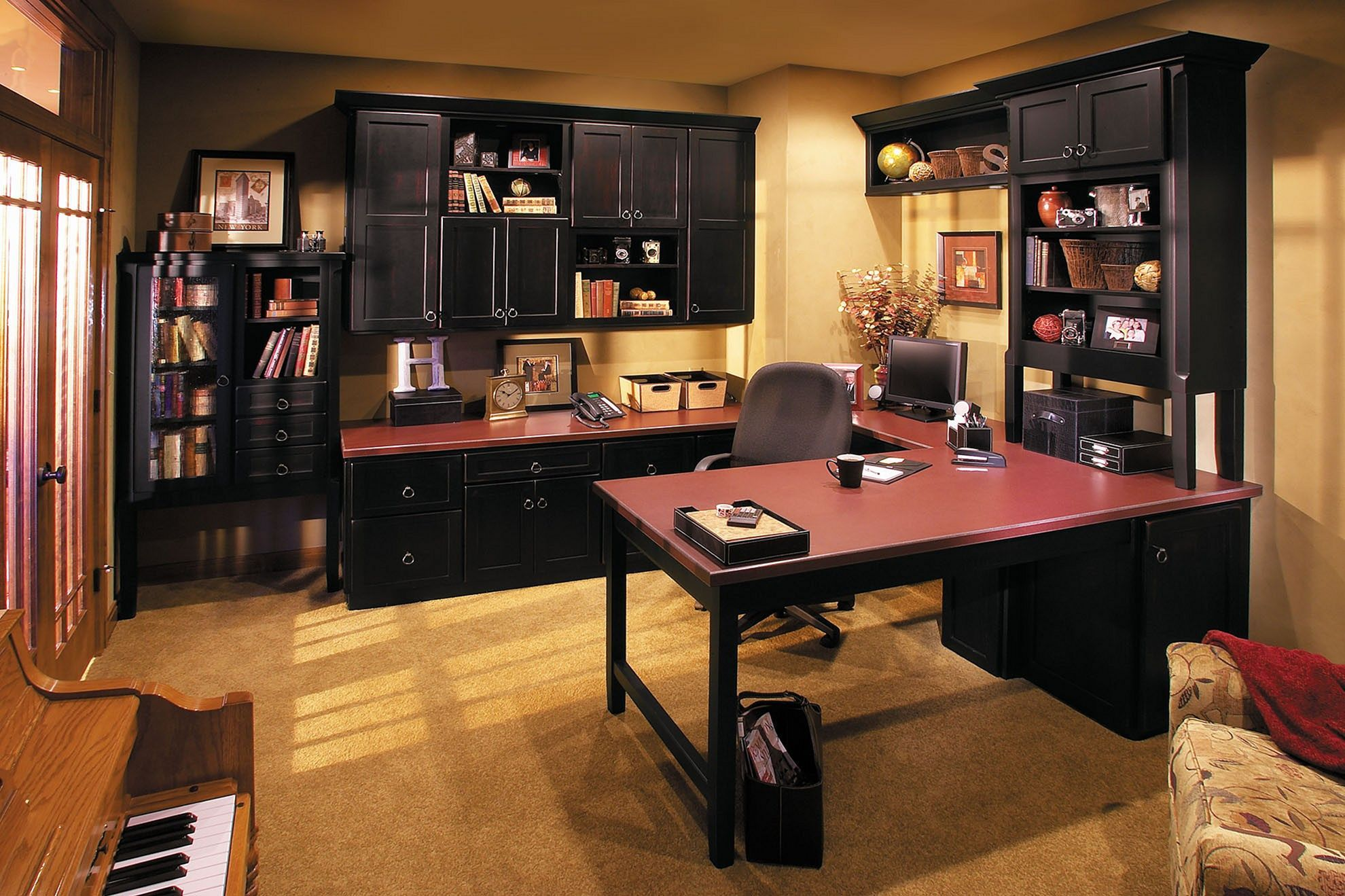 Most Popular 15 Best Home Office Design And Decoration Ideas Basement Home Office Office Layout Ideas Home Office Design